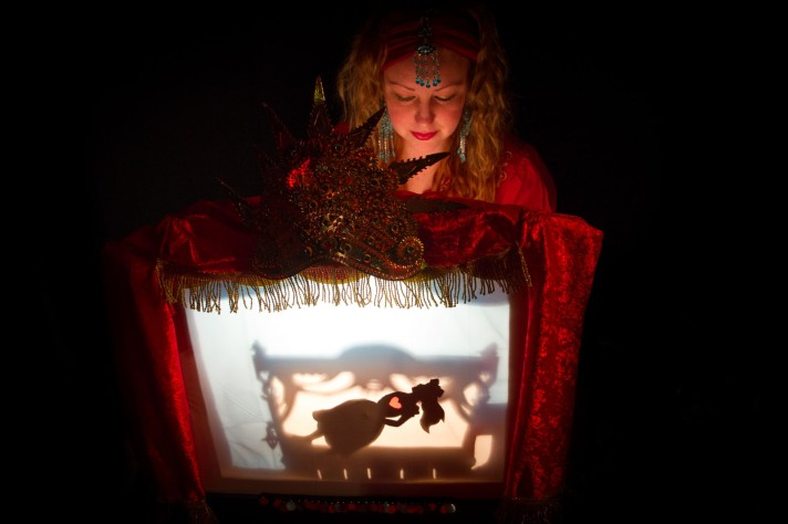 lantern tales melb fest of puppetry shadow puppet claudia