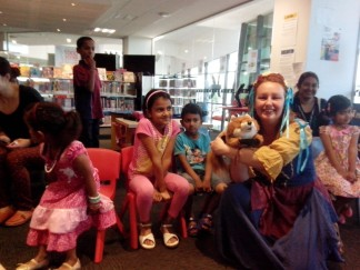 Performing at Broadmeadows Library