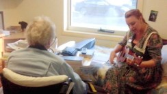 one-on-one singing ukulele joy